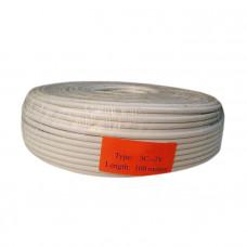 Trinix RG-59 (3C-2V) 100M/Roll - Коаксиальный кабель внутренний бухта 100 м