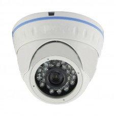 цветная  купольная  IP видеокамераIRVD‐130