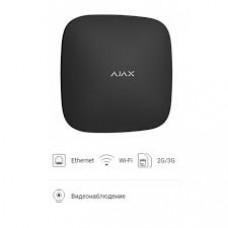 Купить  аякс сигнализацию Ajax HUB Plus black