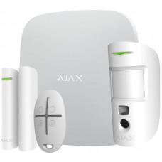 Купить  аякс сигнализацию c камерой Ajax HubKit 2 white  MotionCam