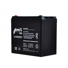 Купить аккумулятора на АКБ 55 Ач  гелиевый на 12 вольт