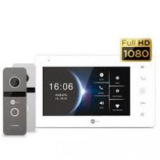 Купить не дорогой Комплект домофона NeoKIT HD Pro White