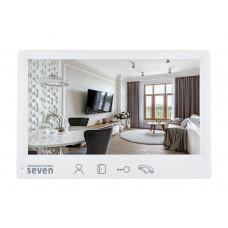Купить не дорогой видеодомофон SEVEN  DP-7571FHD  white