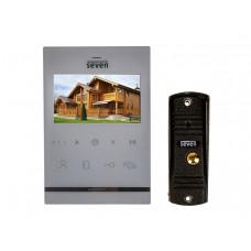Комплект домофона   SEVEN DP-7542 white в квартиру