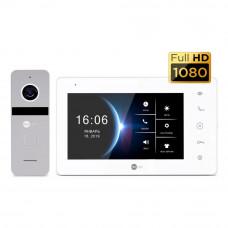 Купить не дорогой Комплект домофона NeoKIT HD+ White