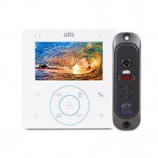 Купить цветной комплект  видеодомофон ATIS AD-480 W Kit box