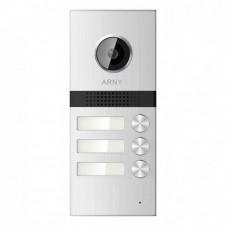 Купить не дорогую видеопанель на 3 абонента Arny AVP-NG523