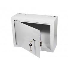 Купить ящик комутационный серверный антивандальный  БК-400-3-петли