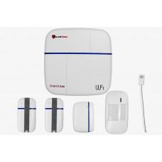 Беспроводной набор сигнализации  Smart & Safe 868 Комплект Wi-Fi GSM PoliceCam