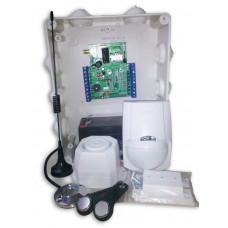 Купить комплект GSM сигнализации в квартиру Сторож 4М