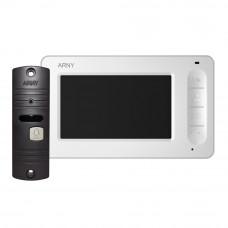 Купить видеодомофон AVD-4005  (белый/коричневый)