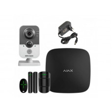 Купить Ajax StarterKit  Hikvision DS-2CD2420F-I