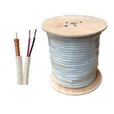Trinix RG59+2*0,44 mm 305M/Roll - Комбинированный кабель внутренний 305M/Roll бухта 305 м