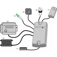 Купить Комплект СКУД на базе Matrix 2K+ электромеханический замок