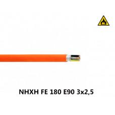 Купить пожарный кабель NHXH FE 180 E90 3x2,5
