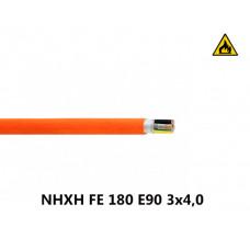 Купить пожарный кабель NHXH FE 180 E90 3x4,0
