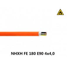 Купить пожарный кабель NHXH FE 180 E90 4x4,0