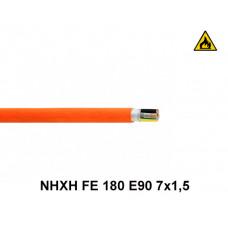 Купить кабель пожарный NHXH FE 180 E90 7x1,5