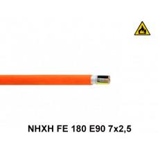 Купить кабель пожарный NHXH FE 180 E90 7x2,5