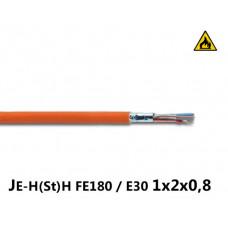 Купить негорючий кабель  JE-H(St)H FE180 / E90 2x2x0,8