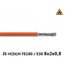 Купить пожарный кабель JE-H(St)H FE180 / E30 8x2x0,8