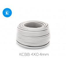 Купить сигнальный медный КСВВ 4X0.4mm, 100M/Roll 100 метров