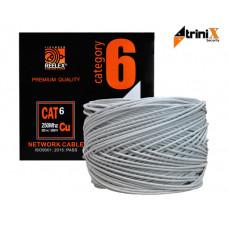Купить кабель витая пара категория 6, медный бухта UTP PVC TRINIX Cu Cat6Е 0,56 mm